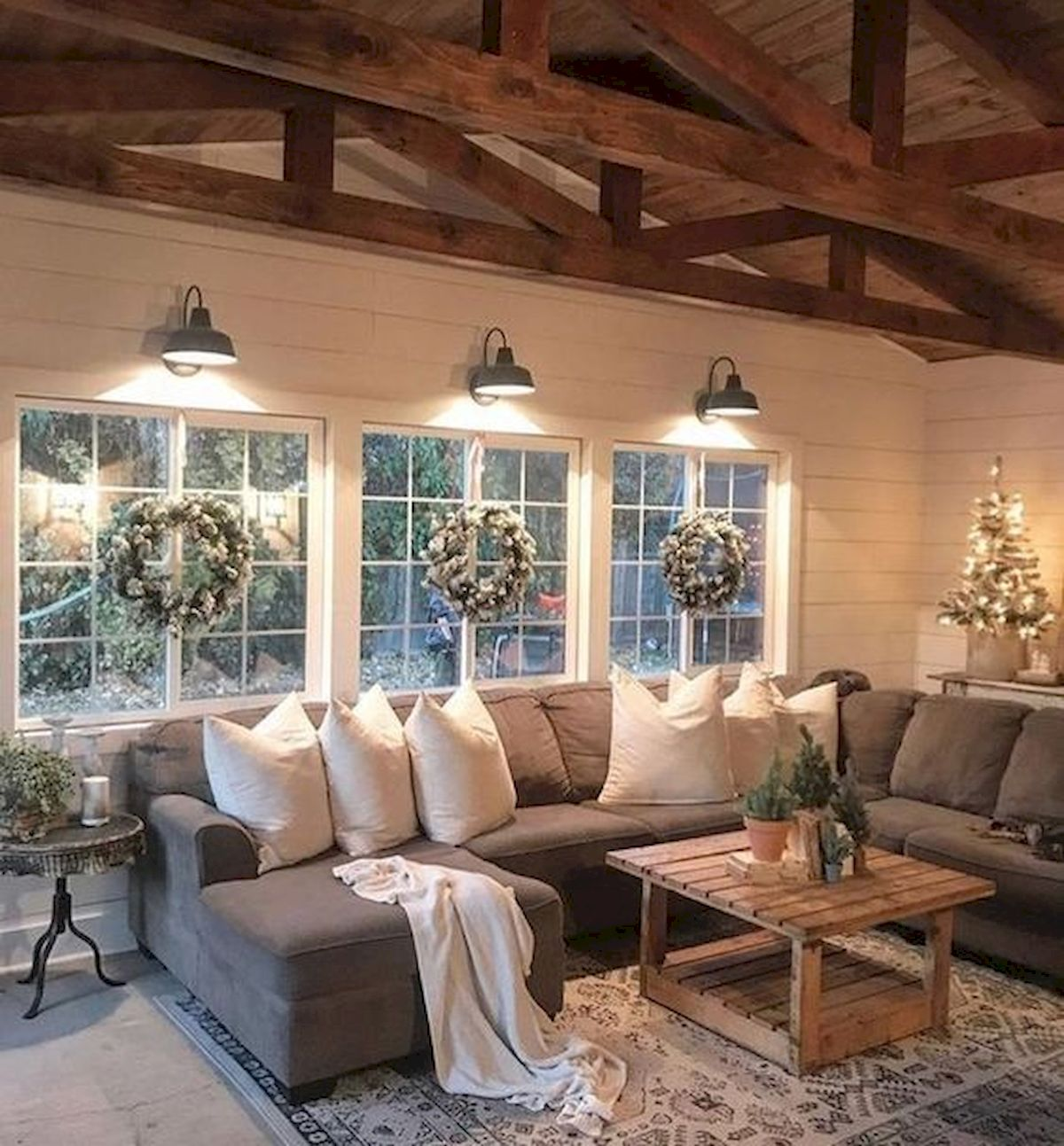 33 Stunning Farmhouse Living Room Lamps Design Ideas And Decor (12)