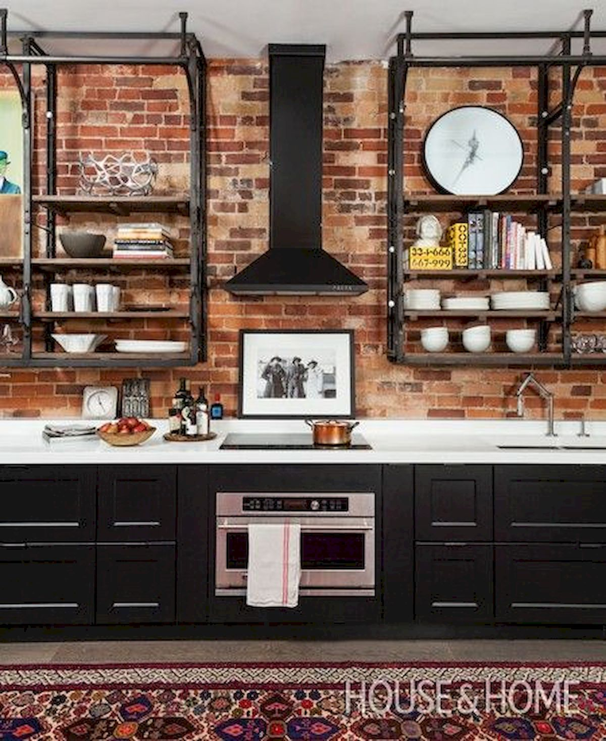 33 Best Industrial Style Kitchen Ideas (22)